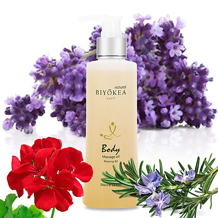 Dầu Massage BIYOKEA Body Premium Relaxing B2 - Thư giãn 200ml