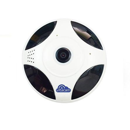 CAMERA QUAY TOÀN CẢNH 360 ĐỘ VITACAM VR1080 FULLHD 1080P – 2.0MP - HÀNG CHÍNH HÃNG