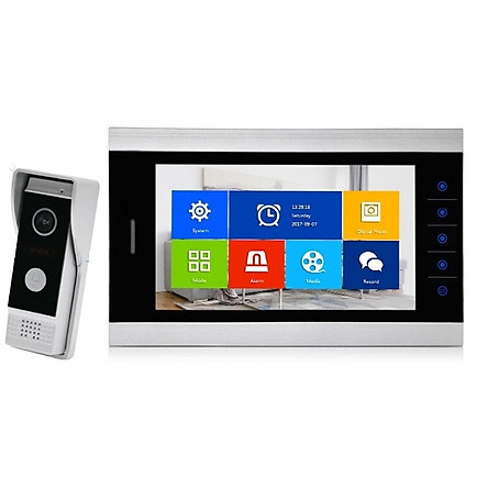 Bộ chuông cửa màn hình HD 10 INCH AHD NCN-CCMH1013