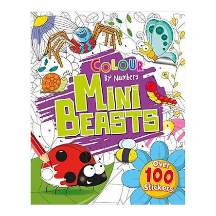 Colour By Numbers: Mini Beasts