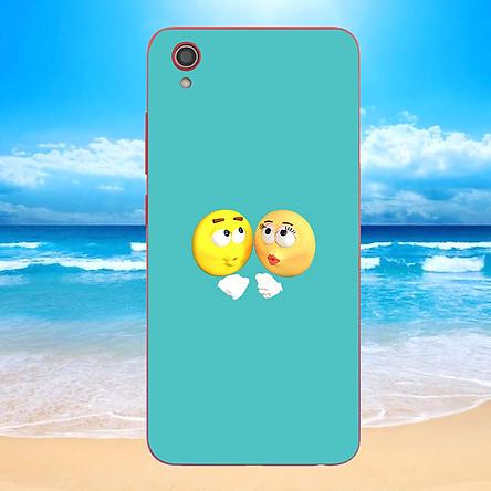 Ốp điện thoại dành cho máy Vivo Y91C - emojis nhiều cảm xúc MS EMGES017