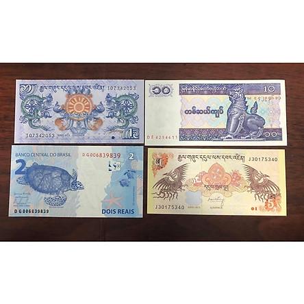 Bộ tiền cổ tứ linh LONG LÂN QUY PHỤNG