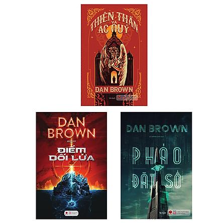 Combo Tuyển Tập Tác giả Dan Brown 2 (Pháo Đài Số + Thiên Thân Và Ác Quỷ + Điểm Dối Lừa)