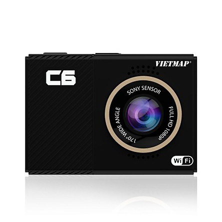 Camera Hành Trình Ô tô - Thiết Bị Ghi Hình VietMap C6 + Kết Nối WiFi + Thẻ Nhớ 16GB