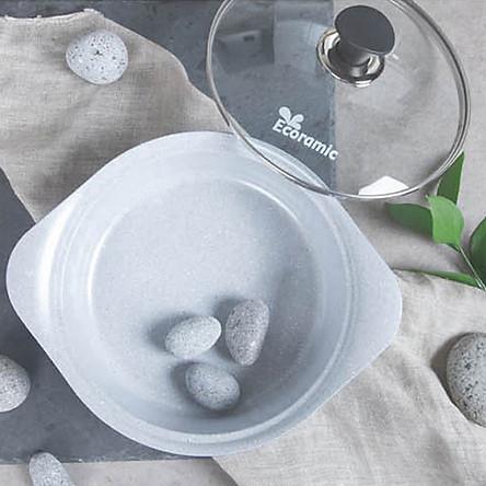 Nồi đá Ecoramic cao cấp phủ 5 lớp chống dính ceramic- 22 cm (22 CASSEROLE _IH)