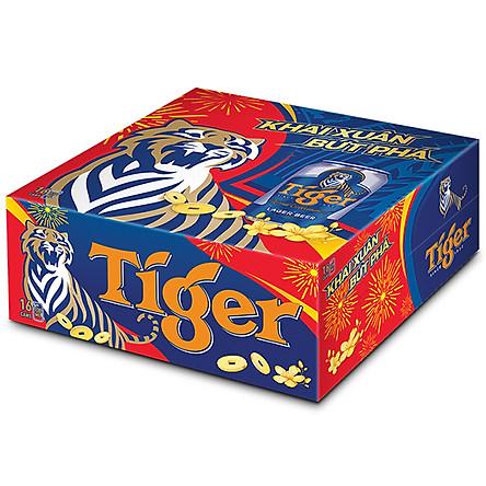 Thùng bia Tiger 16 lon 330ml/Lon - PHIÊN BẢN ĐỘC QUYỀN ONLINE
