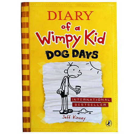 Diary Of A Wimpy Kid 04 : Dog Days (Paperback)
