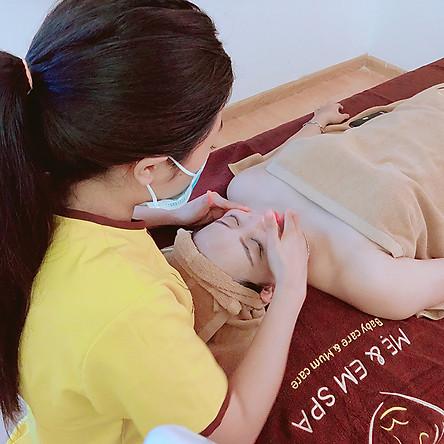 Liệu Trình Áp Dụng 1 Trong 2 Dịch Vụ 90 Phút Massage Mẹ Bầu Bằng Đá Nóng/Thảo Dược Tại Mẹ & Em Spa