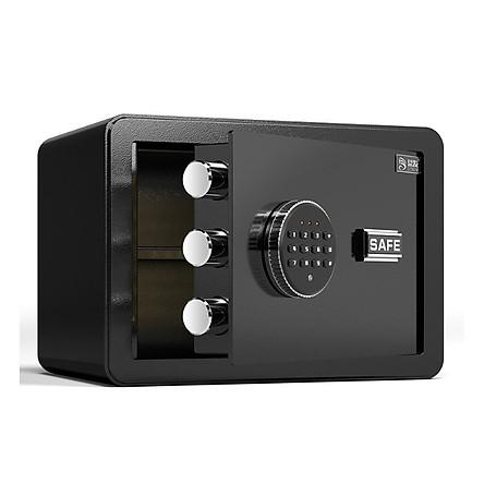 Két sắt mini - Két sắt 31x20x20 cm - Két sắt mini khách sạn an toàn,khóa bảo mật - Màu sắc ngẫu nhiên