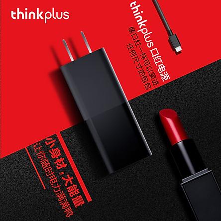 Bộ Sạc Nhanh Hỗ Trợ Cổng Type-C Lenovo Thinkplus (65W)