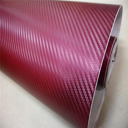 Miếng Dán Vinyl 3D Sợi Cacbon Cho Xe Laptop