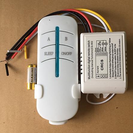 Bộ điều khiển thiết bị điện từ xa 2 kênh 220VAC