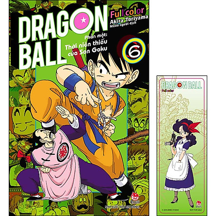 Dragon Ball Full Color - Phần Một: Thời Niên Thiếu Của Son Goku - Tập 6 (Tặng Kèm Bookmark)