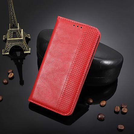 Bao da dạng ví, nam châm dành cho Oppo A31 2020 Luxury Leather Case - Hàng nhập khẩu