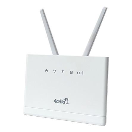 Phát wifi từ sim 4G LTE CPE RS980+ tích hợp 4 cổng WAN/LAN - dùng nguồn trực tiếp 12V hoặc 5V (trắng) HÀNG NHẬP KHẨU