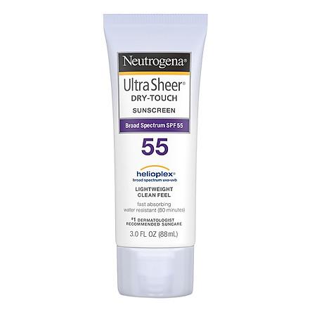Kem Chống Nắng Neutrogena Ultra Sheer Dry-Touch Sunscreen SPF55 88ml