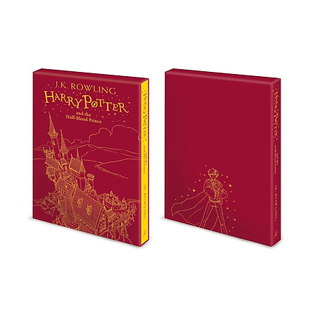 Harry Potter Part 6: Harry Potter And The Half-Blood Prince (Hardback) Gift Edition (Harry Potter và Hoàng Tử Lai) (English Book)