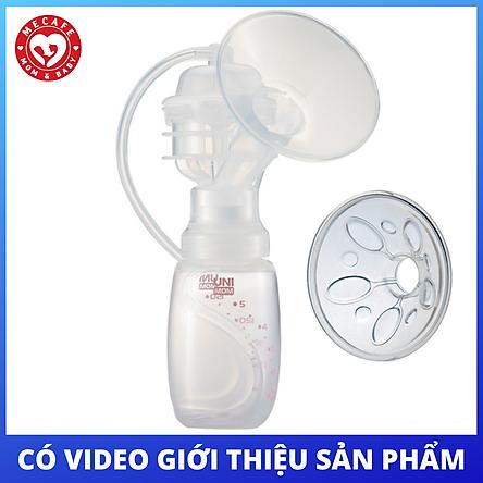 Bộ phụ kiện có màng matxa silicone cho máy hút sữa điện Unimom size M chính hãng