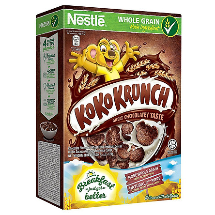 Bánh Ăn Sáng Nestle KoKo Krunch (170g)