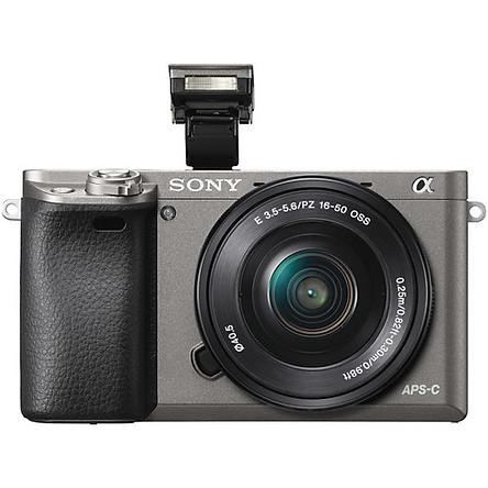 Máy ảnh Sony A6000 Xám   Kit 16-50   Chính hãng