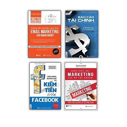 Bộ sách xây dựng chiến dich để thu hút khách hàng ( Báo cáo tài chính , Hướng dẫn bài bản cách làm Email Marketing cho doanh nghiệp | Ultimate Guide Series , Bán hàng, quảng cáo và kiếm tiền trên Facebook , Những chiến lược Marketing tạo ra lợi nhuận ) DL