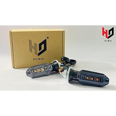 Cặp Đèn xi nhan mini 3 led sáng vàng dành cho các dòng xe winner X, ex 150, NVX, MSX, CBR