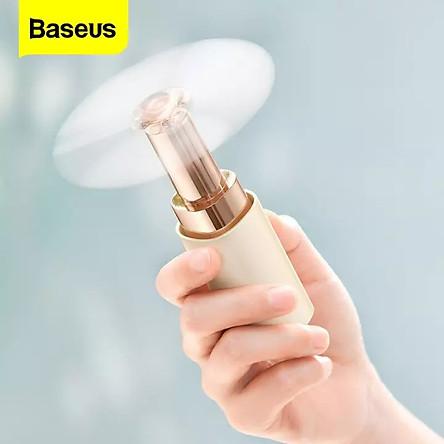 (Hàng chính hãng) Quạt cầm tay mini Baseus dung lượng pin 2000mAh, vận hành mượt mà nhỏ gọn tiện dụng mang đi thích hợp cho các chuyến đi