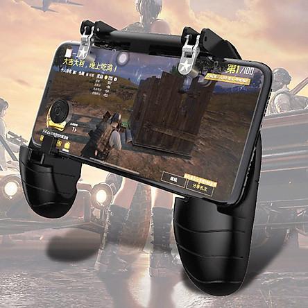 Tay cầm chơi game W11+ Có Nút Bắn - Joystick di chuyển cho Điện Thoại chơi Pubg, Ros, Free Fire Controller