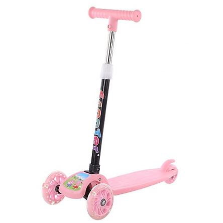 Xe scooter cho bé - màu hồng