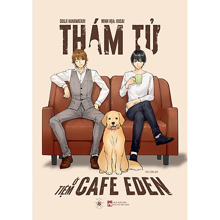 Sách - Thám Tử Ở Tiệm Cafe Eden - Bản đặc biệt: Tặng kèm 1 thư tay có chữ ký tác giả + 1 postcard ivory chữ ký họa sĩ + huy hiệu (random ½ mẫu)
