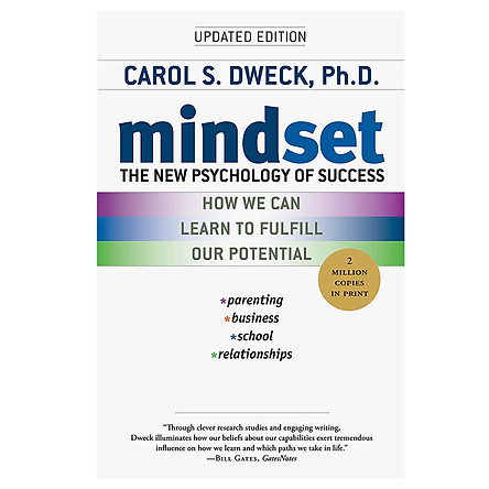 Mindset : The New Psychology of Success (How We Can Learn To Fulfill Our Potential)