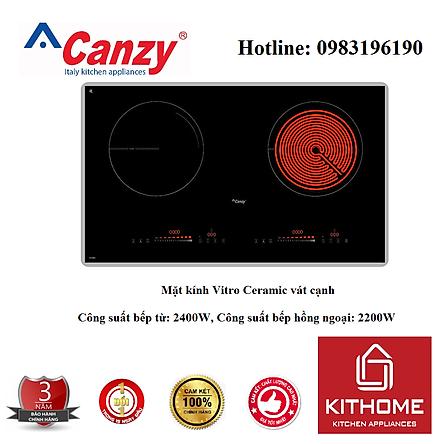 Combo Bếp điện từ Canzy CZ 08H + Attomat Cao Cấp - Hàng Chính Hãng