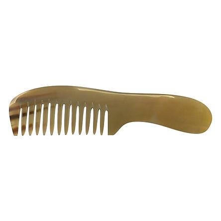 Lược Chải Tóc Sừng Bò Châu Phi L05 Răng To (Dài 20cm x 5cm)