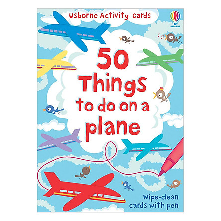 Usborne 50 things to do on a plane