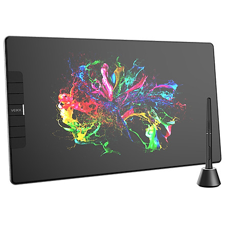 Màn hình vẽ kỹ thuật số kèm bút vẽ VEIKK VK1200 độ phân giải 5080LP và độ nhạy cao