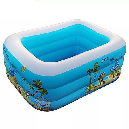Bể phao bơi 3 tầng 1m5
