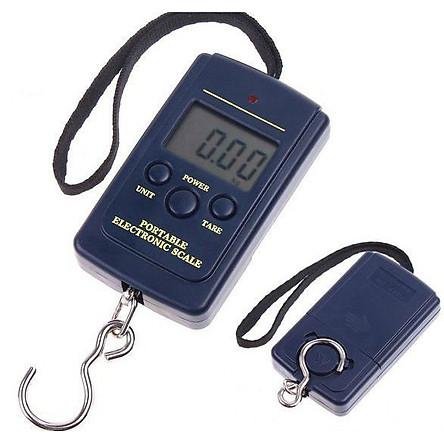 Cân điện tử cầm tay A060 40kg mini dạng treo nhỏ gọn tiện lợi móc sắt