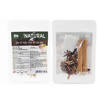 Combo 2 gói Natural Gia Vị Nấu Phở Bò Hà Nội Dh Foods