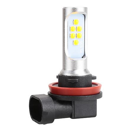 Đèn Pha LED Siêu Sáng Cho Xe Máy H8 H11 ATV (3500K)