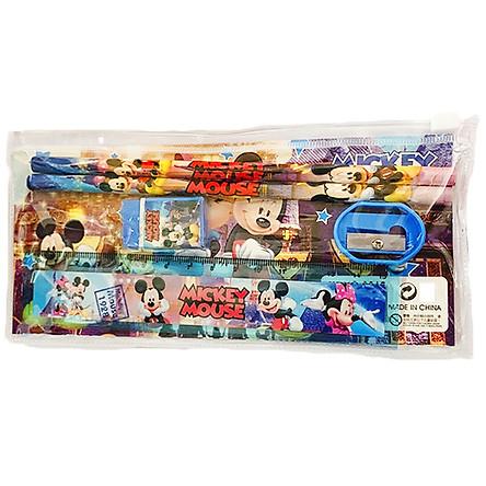 Bộ dụng cụ học tập 5 món chủ đề hoạt hình thú vị kèm hộp quà lung linh xinh xắn cho bé trai và bé gái – H039