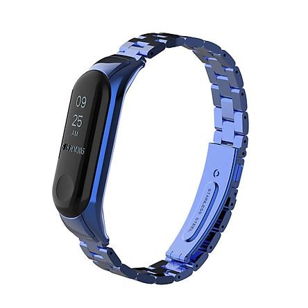 〖Follure〗Luxury Stainless Steel Wrist Strap Metal Wristband For Xiaomi Mi Band 3 Watch