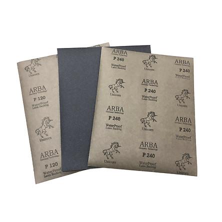 Giấy nhám đen ARBA cỡ hạt từ 100 đến 2000 - 100 tờ