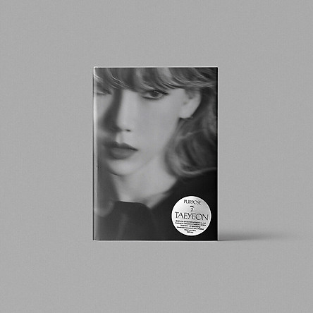 TAEYEON Purpose 2nd Album CD+Photobook+Etc