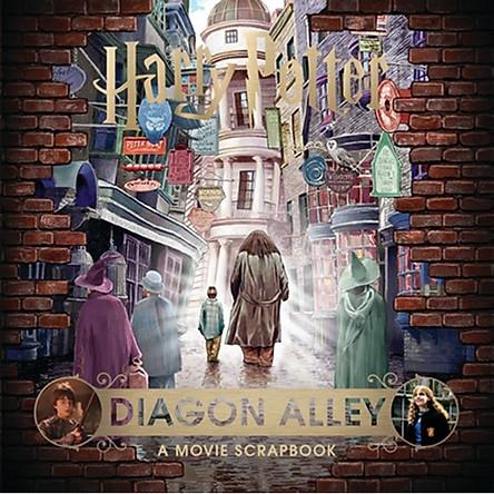 Harry Potter: Diagon Alley (A Movie Scrapbook ) (Hardback) Hẻm Xéo (Cánh cửa mở ra thế giới phép thuật) (English Book)