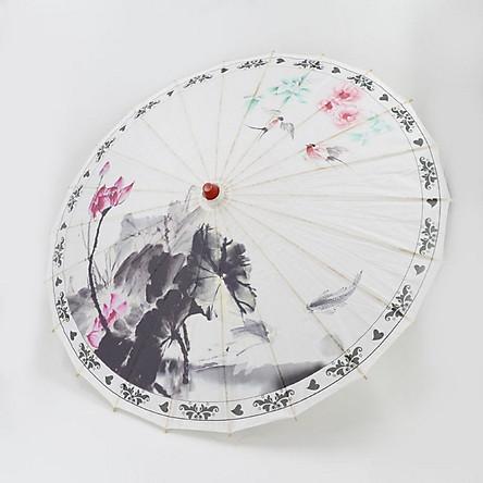 Dù Giấy Wagasa Nhật Bản - MS18 Phù Hợp Trang Trí, Làm Đạo Cụ Trình Diễn