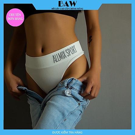 Quần Lót Nữ Nọt Ne thương hiệu BAW bản lớn thấm hút thoáng mát QLN31