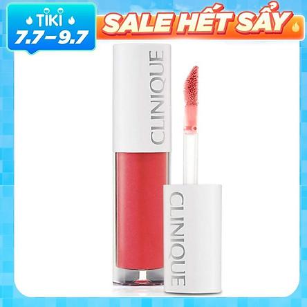 Son Môi Cao Cấp Clinique Pop Splash Lip Gloss + Hydration - Rosewater Pop 1.5ml
