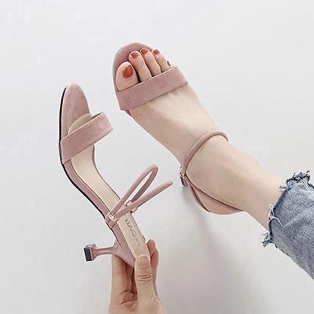 Giày Sandal Cao Gót Thời Trang Nữ