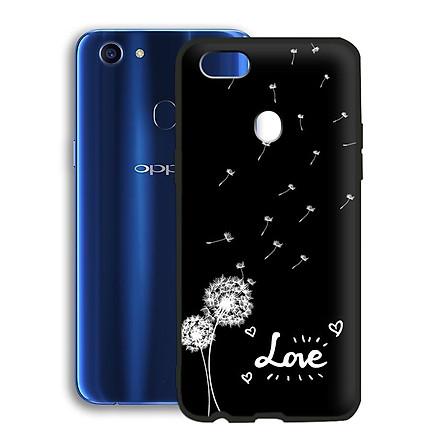 Ốp lưng mẫu đẹp cho điện thoại Oppo F5 - Viền dẻo - 02062 7890 BOCONGANH07 - hoa Bồ Công Anh - Hàng Chính Hãng