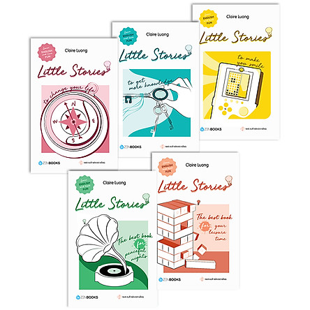 Combo Sách Học Tiếng Anh Little Stories 2 (5 Cuốn)